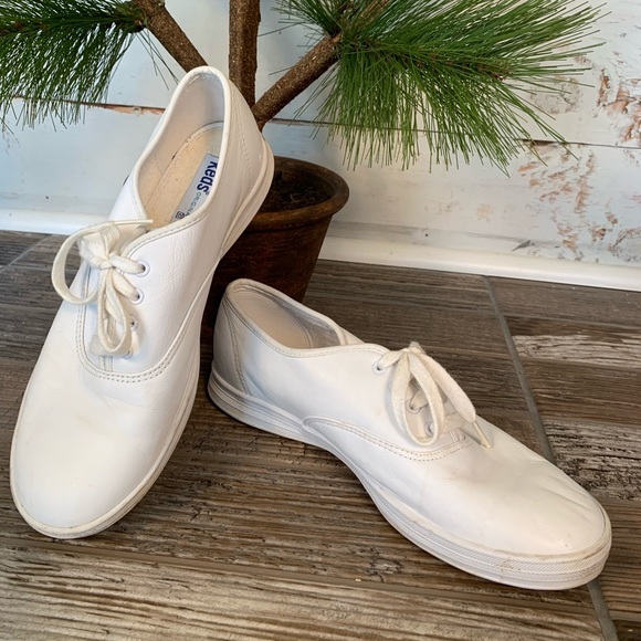 a91b6680bf81b Keds Shoes - KEDS CHAMPION ORIGINAL WHITE LEATHER SNEAKER
